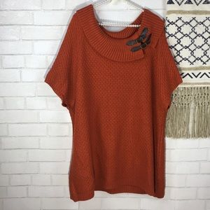 New Directions Tunic Sweater Size 3X